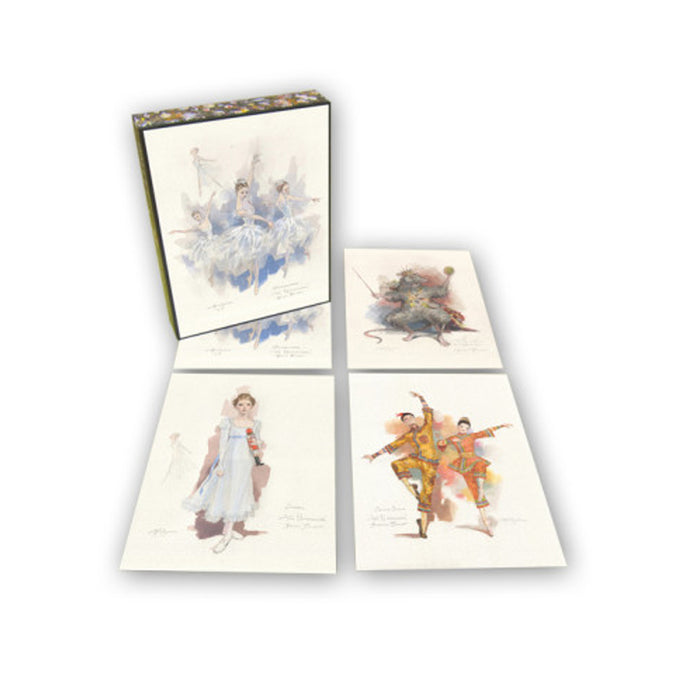 Nutcracker Character Art Notecards