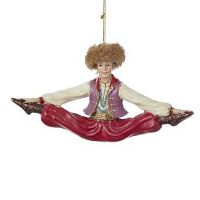 Nutcracker Russian Dancer Ornament
