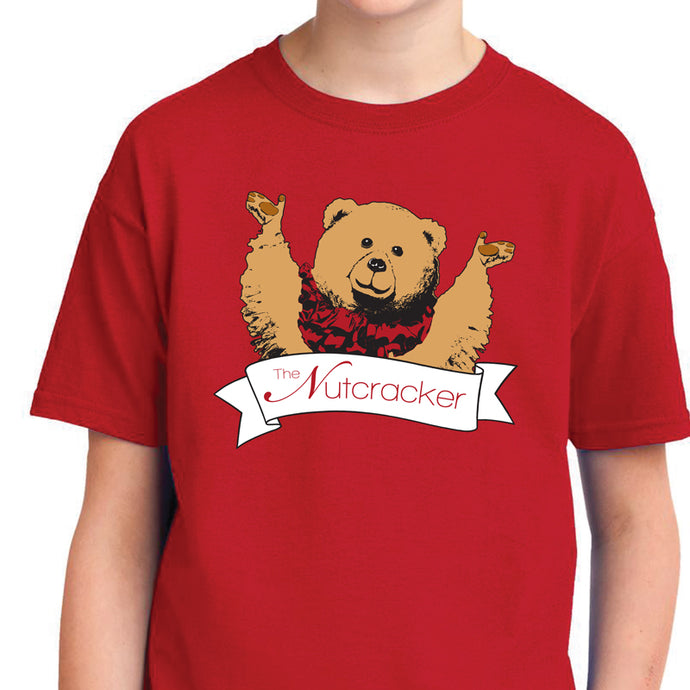 Nutcracker Bear Youth Tee