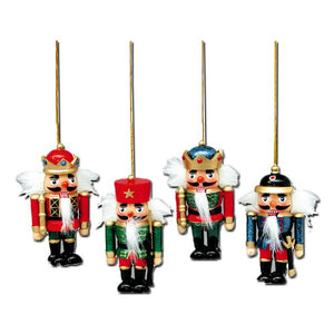 Wooden Nutcracker Ornament