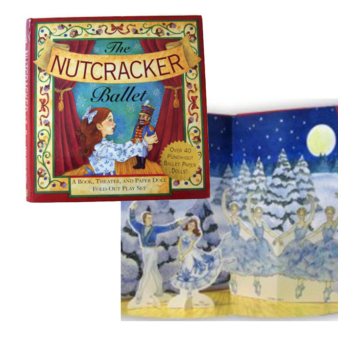 Nutcracker Pop-up Book