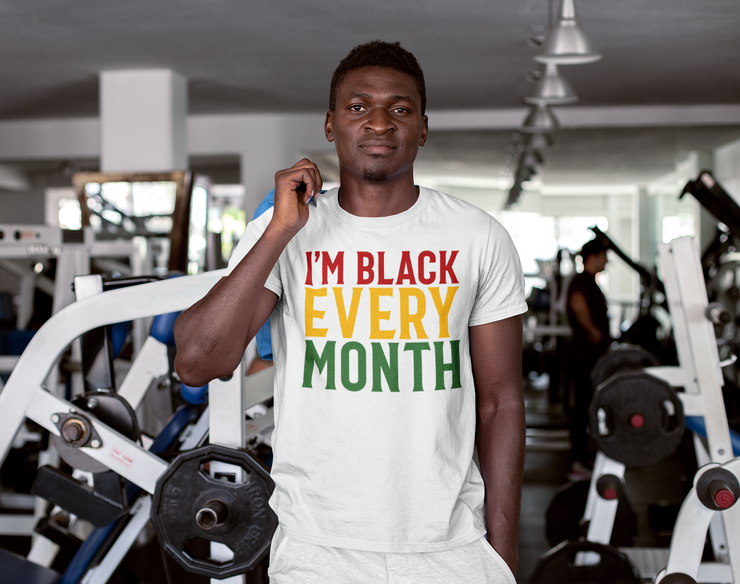 I'M BLACK EVERY MONTH - Smirk Society