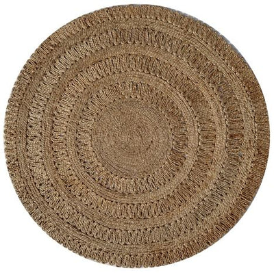 Jute - Anna II Hand Knotted Circular Rug
