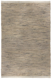 Acin Hyacinth & Cotton Flat Weave Natural Fibre Floor Rug - Stella Rugs