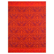 Peacock Red Outdoor Rug - Stella Rugs