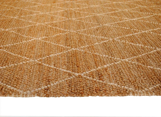 Jute - Breeze White Hand Loomed Floor Rug