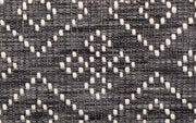 Bellevue Grey Hand Woven Pure Wool Low Pile Floor Rug Runner - Stella Rugs