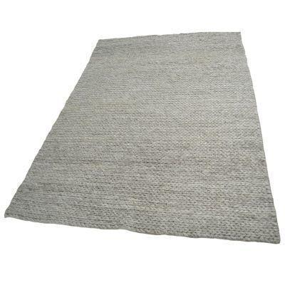 Cable Oatmeal - Modern Hand Knotted Wool Rug - Stella Rugs