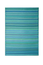 Cancun Aqua Outdoor Rug - Stella Rugs