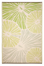Citrus Lily Green Outdoor Rug - Stella Rugs