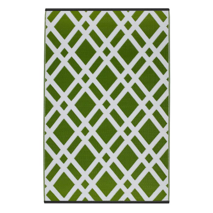Dublin Lime Green Outdoor Rug - Stella Rugs