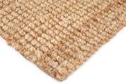 Jute - Estate Natural Hand Braided Runner - Stella Rugs