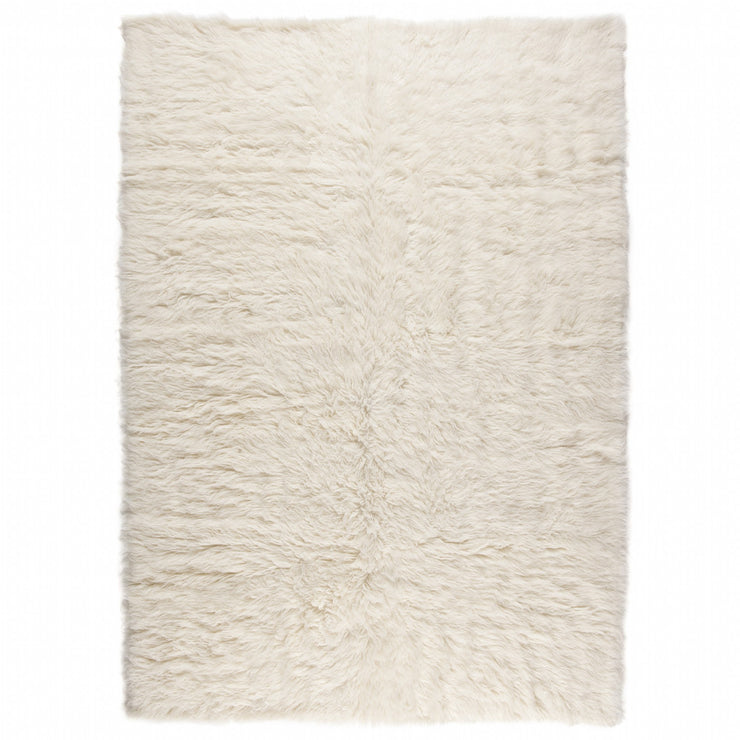 Flokati 1300gms Pure New Zealand Wool Shaggy Floor Rug