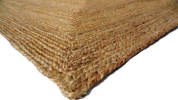 Jute - Natural Hand Braided Floor Rug - Stella Rugs