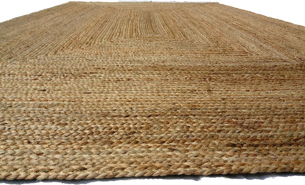 Jute - Natural Hand Braided Floor Rug