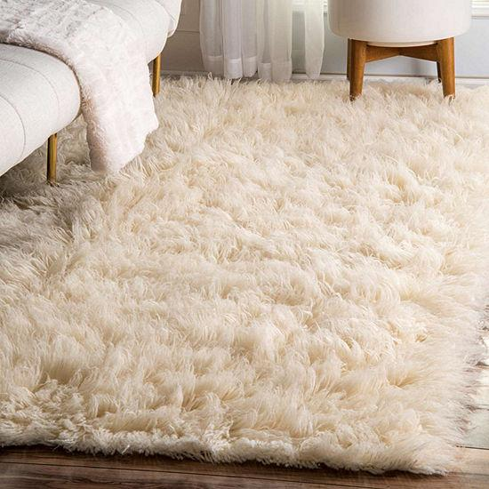 Flokati Pure New Zealand Wool Shaggy Floor Rug - Stella Rugs