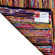 Gypsy Apricot - Hand Woven Cotton & Recycled Fibres - Stella Rugs