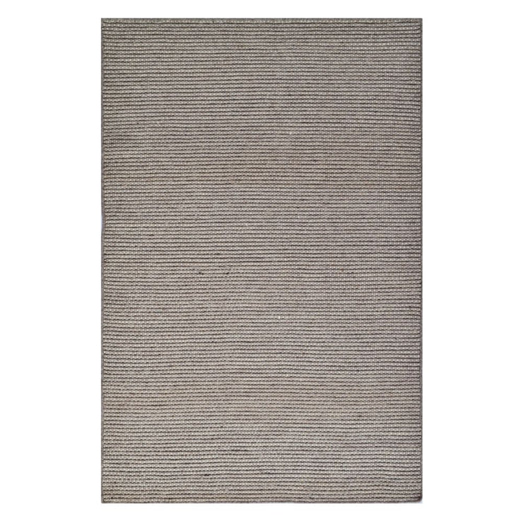 Boondi Natural/Beige/Black - Modern Flat Weave Pure Wool Fully Reversible Rug - Stella Rugs