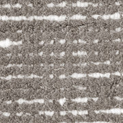 Hamptons Taupe/White Hand Loomed Wool/Viscose Floor Rug - Stella Rugs