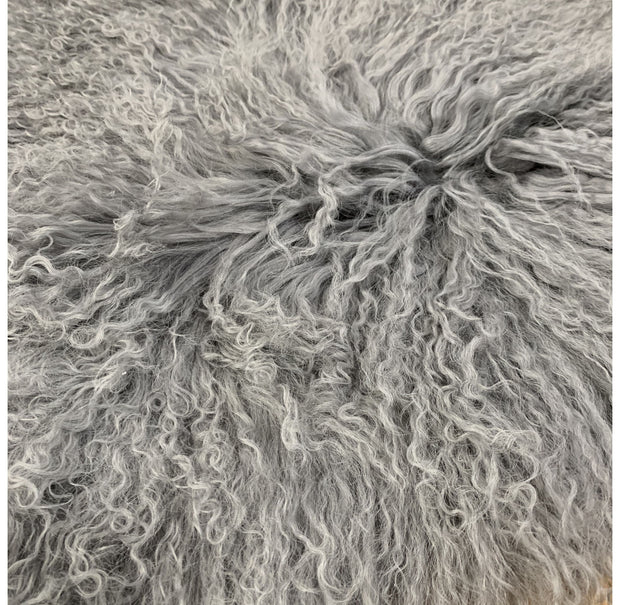Sheepskin Mongolian -  Grey