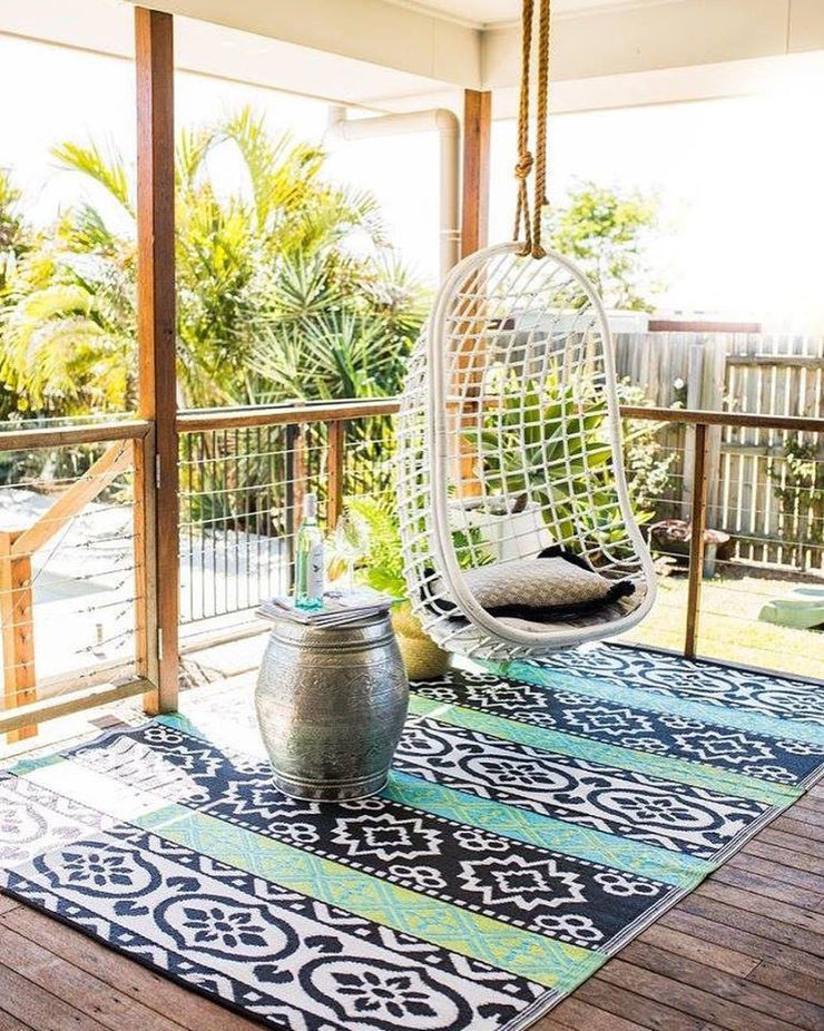 Indiana Green Outdoor Rug - Stella Rugs