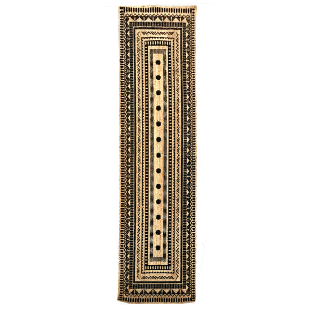 Jute  - Isabel Printed Hand Braided Floor Hallway Runner