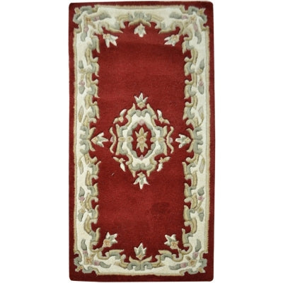 Jewel Red - Hand Tufted Wool Rug - Stella Rugs