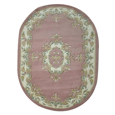 Jewel Rose Oval - Hand Tufted Wool Rug - Stella Rugs