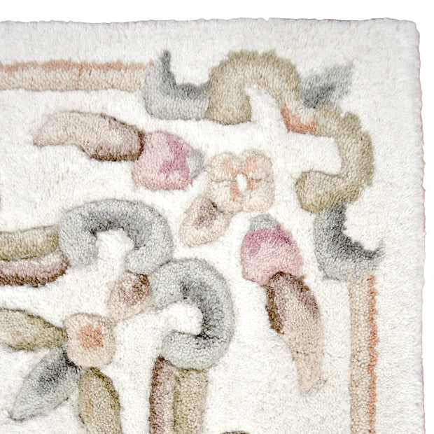 Jewel Cream - Hand Tufted Wool Circle Rug - Stella Rugs