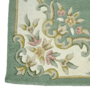Jewel Green - Hand Tufted wool Rug Runner - Stella Rugs