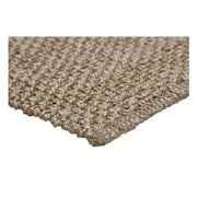 Jute - Keeler Light Grey Natural Handwoven Rug - Stella Rugs