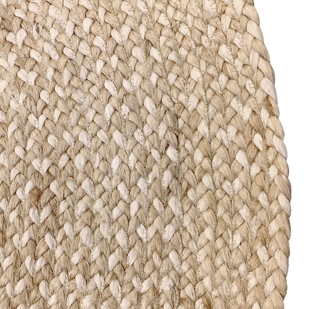 Jute - Katie Natural/Bleach Hand Braided Circle Rug - Stella Rugs