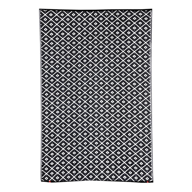 Kimberley Black Outdoor Rug - Stella Rugs