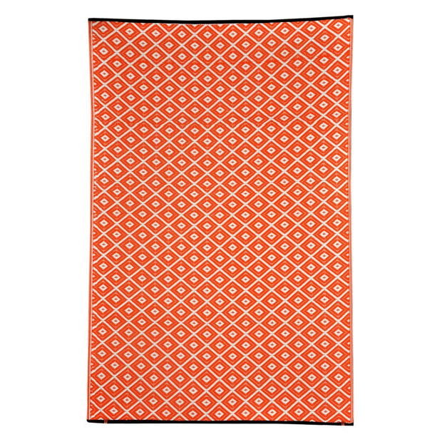 Kimberley Orange Outdoor Rug - Stella Rugs