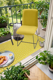 Kimberley Yellow Outdoor Rug - Stella Rugs