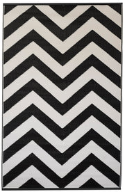 Laguna Black and White Outdoor Rug - Stella Rugs