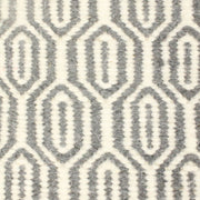 Lisa Grey - Modern Flat Weave 100% Wool Fully Reversible - Stella Rugs