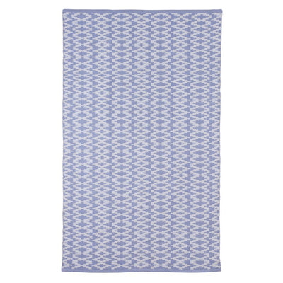 Modern Marga Light Blue - 100% Cotton Rug - Stella Rugs
