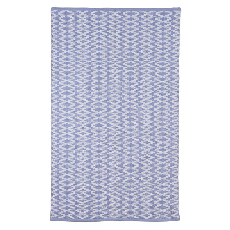 Modern Marga Light Blue - 100% Cotton Rug