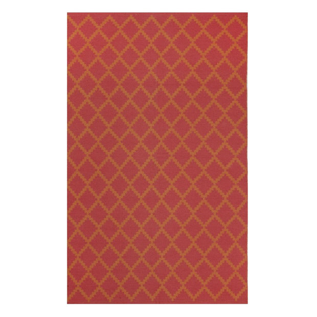 Modern Marrakesh Orange - 100% Cotton Rug - Stella Rugs
