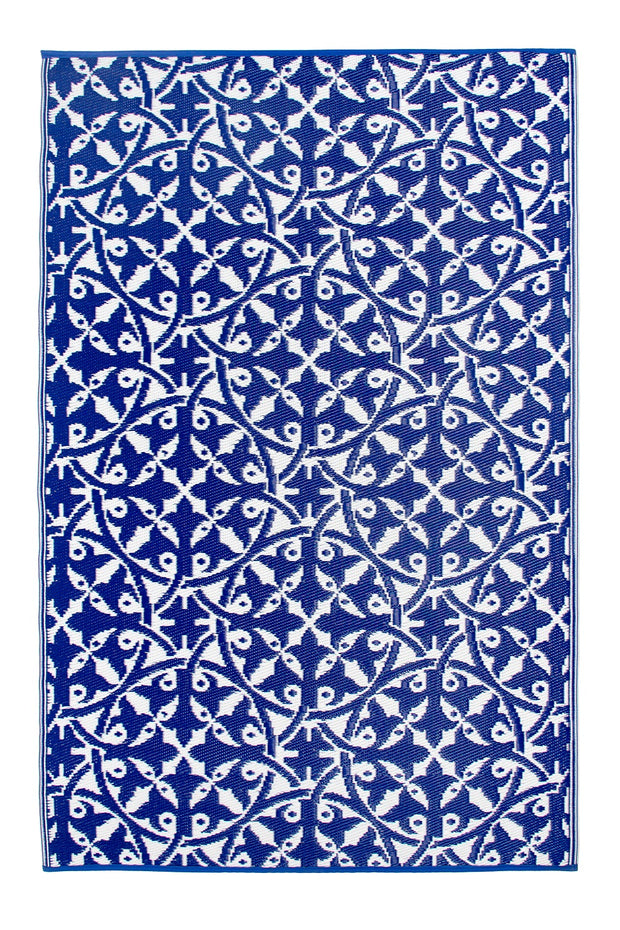 San Juan Blue Outdoor Rug - Stella Rugs