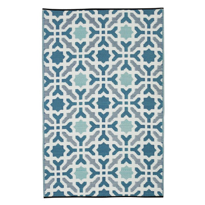 Seville Blue Outdoor Rug - Stella Rugs