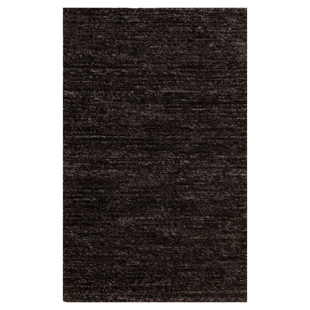Svend Charcoal Hand Braided Pure Wool Floor Rug - Stella Rugs