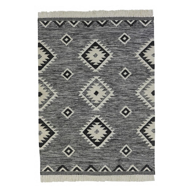 Tunisia II Wool/Cotton Blend Hand Knotted Floor Rug - Stella Rugs