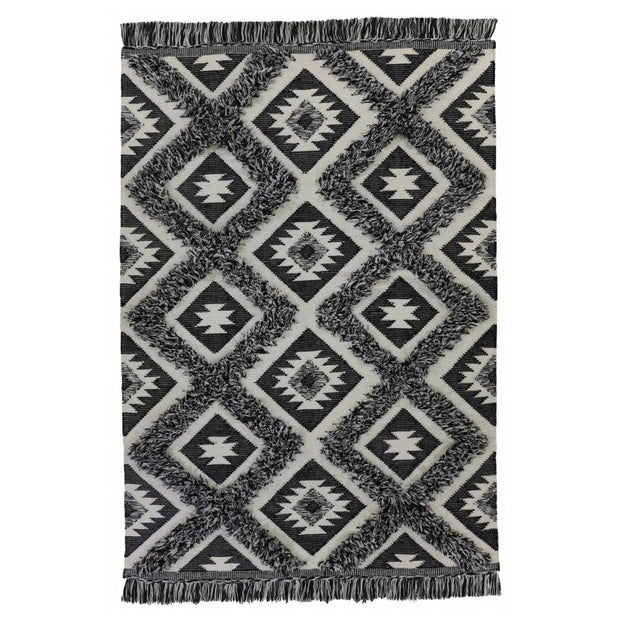 Tunisia I Wool/Cotton Blend Hand Knotted Floor Rug - Stella Rugs