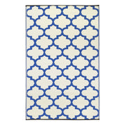 Tangier Blue & White Outdoor Rug - Stella Rugs