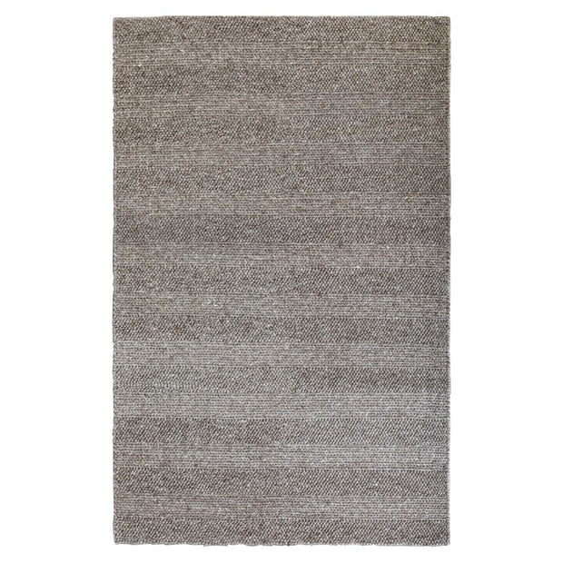 Diva Taupe Braided Hand Loomed Wool/Viscose Blend Floor Rug - Stella Rugs