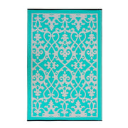 Venice Turquoise Outdoor Rug - Stella Rugs