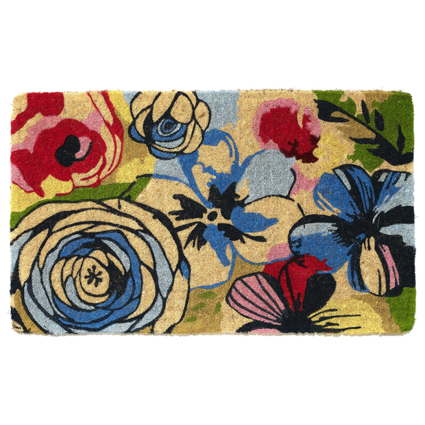 Doormat - Watercolour 100% Coir - Stella Rugs