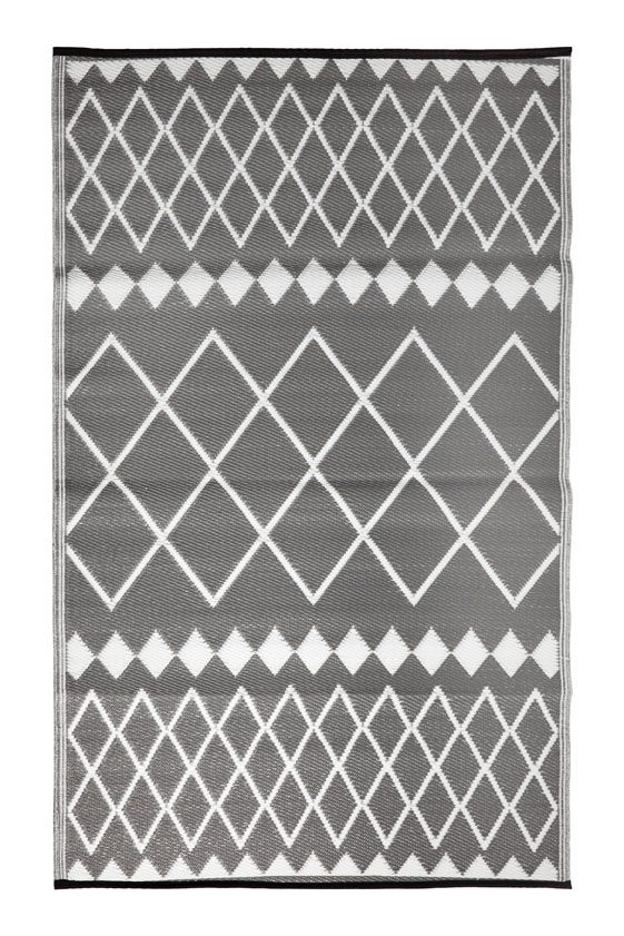 Cadix Grey Outdoor Rug - Stella Rugs